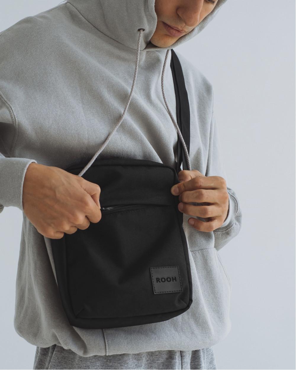 """""""Messenger City Bag"""" полиэстер, чёрный"""