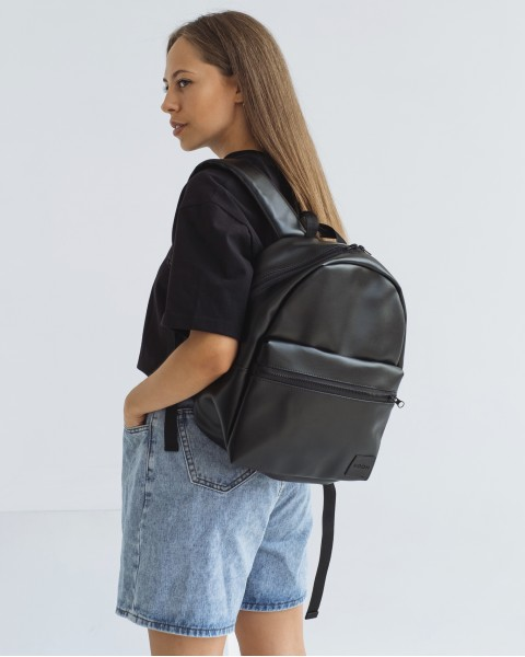 """Day Pack Mini"" экокожа, чёрный"