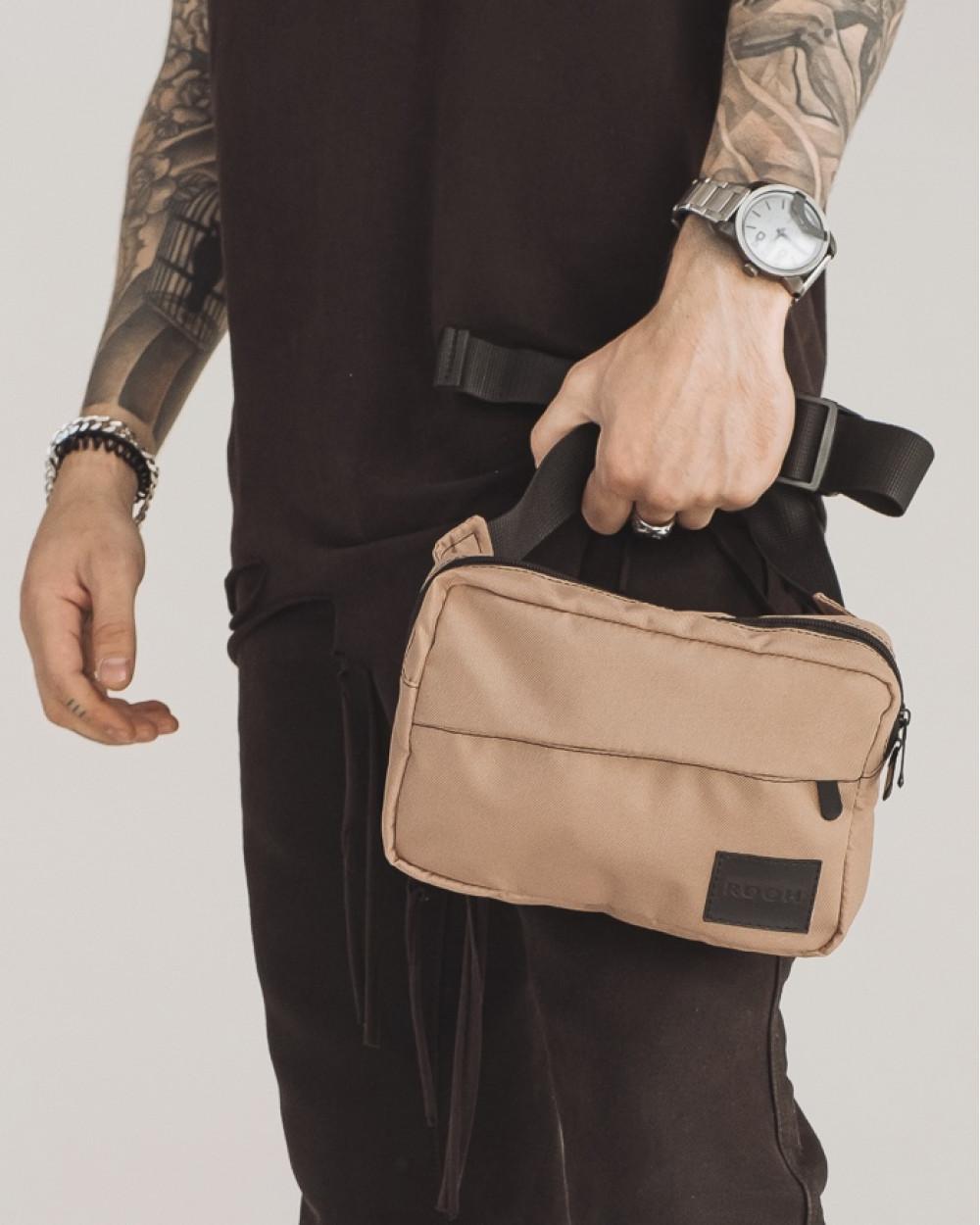 """City Bag Mini"" поліестер, беж"