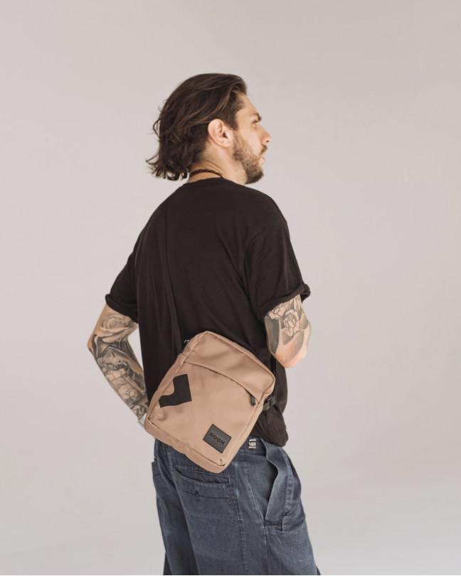 """Messenger City Bag"" поліестер, беж"