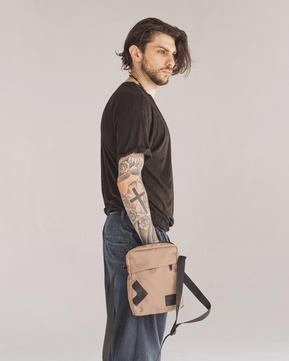 """Messenger City Bag"" полиэстер, беж"