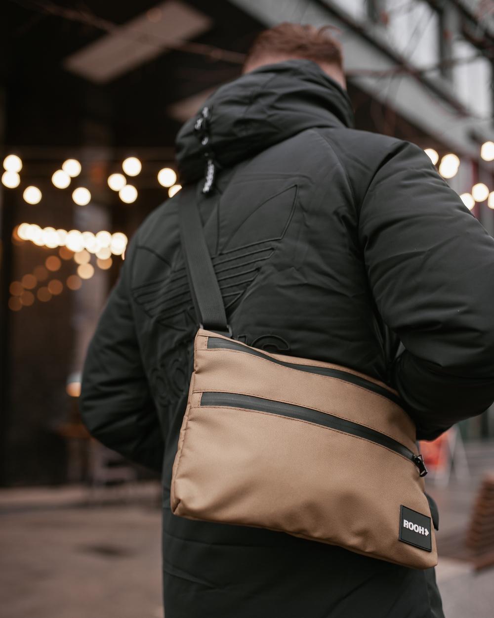 """""""Flat bag"""" полиэстер, светлый хаки"""