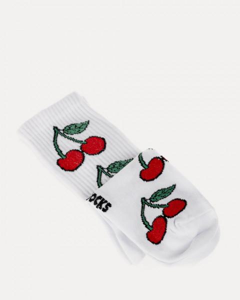 """Носки """"Cherry"""", белые"""